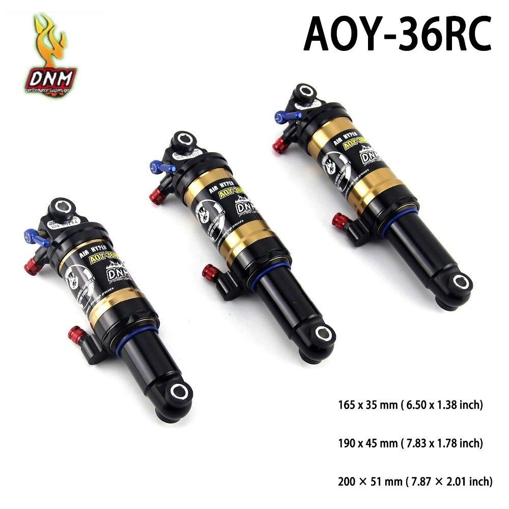 DNM AOY-36RC rebond alliage haute pression vélo de montagne pièces de Suspension arrière descente vtt vélo arrière amortisseur