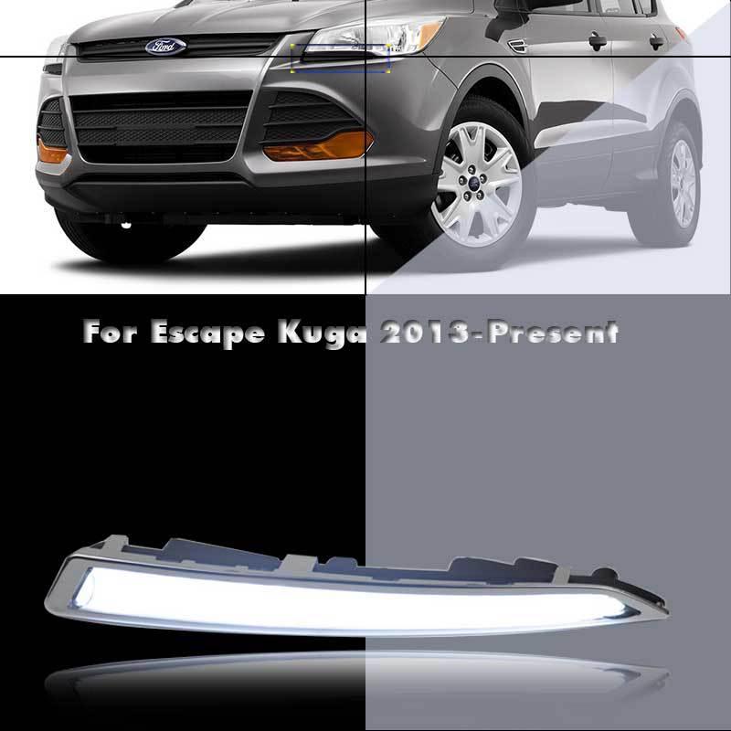DRL LED Daytime Running Lights For Ford Escape (US) Kuga