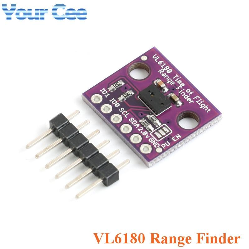 VL6180 I2C Time-of-Flight ToF Ranging Distance Sensor 850nm Laser Module-VL53L0X