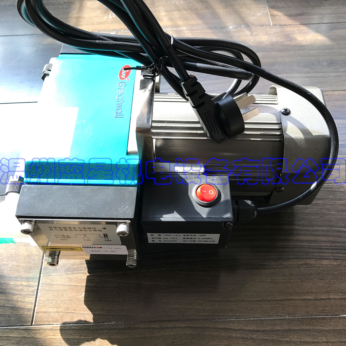 Corrosion-resistant high temperature diaphragm oil-free vacuum pump LX-201 limit vacuum -0.098MPA 25L / min free shipping gz 35b 12 12 24v dc 160w double head diaphragm vacuum pump with 70l min vacuum flow