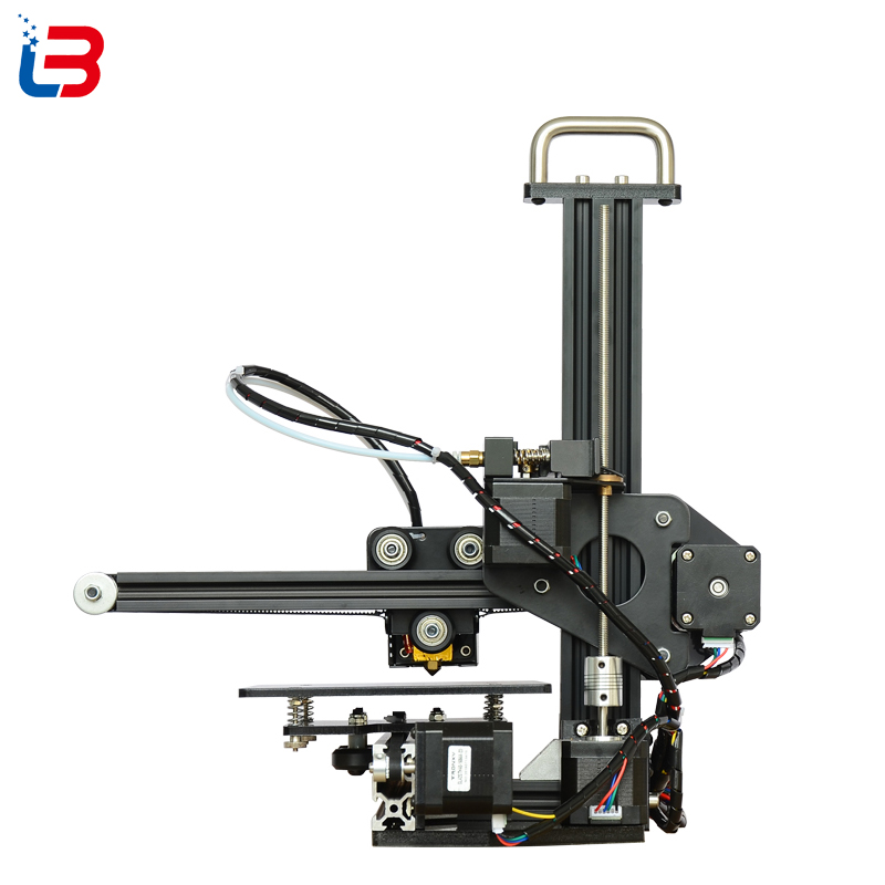 lowest price Good Quality Mini DIY 3D Printer Desktop Portable for beginner build size 150 150 150mm CE FCC RoHS certifiction LCD 8GB SD free