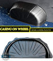 Casing on wheel case for Peugeot Boxer 2006- \ for Citroen Jumper 2006- case for Fiat Ducato 1 set \ 2 car styling protection