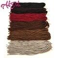 "Premium Faux Locs Crotchet Braids 18"" 20 Roots/Pack Synthetic Dreadlocks Crochet Braid Hair Senegalese Twist For Black Women"