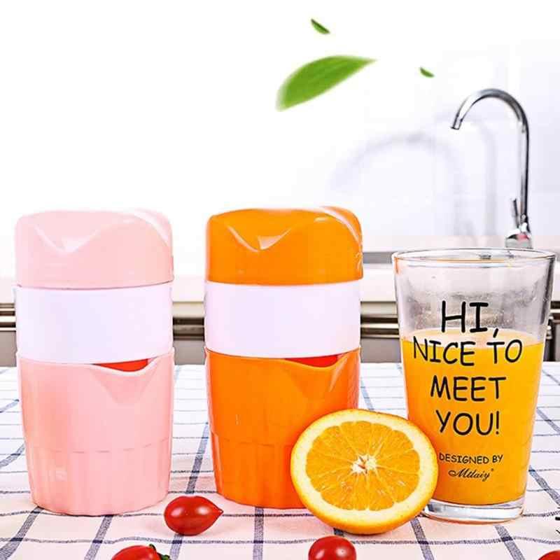 300ml portátil Manual de Limão Laranja Espremedor Espremedor de Citrinos Frutas Xícara de Café Mão Extrator De Suco de Imprensa Máquina de Fabricante de Vida