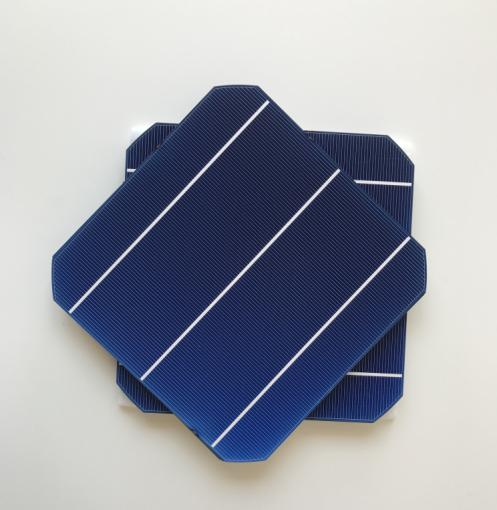 Haute Efficacité 10 Pcs 4.7 W 156 mm photovoltaïque monocristallin cellules solaires 6x6