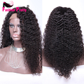 Brazilian Kinky Curly Wig 8A Grade 100% Unprocessed Virgin Hair Afro Kinky Curly Lace Front Wigs Human Hair For Black Women