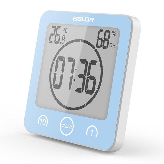 Online-Shop Baldr Digitale Badezimmer Uhr Wasserdicht Dusche Uhr ...