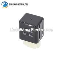купить 12V  RTT7121A 40A 4pin small electromagnetic relay 4 pin car / DIY General Electric Relays по цене 367.99 рублей