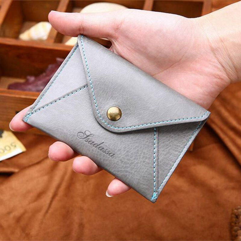 Personality Scrub Card Holder Clutch Ultra Thin Coin Purse Cover Pocket Travel Minimalist Wallet For Credit Cards Casual Pouch in Card ID Holders from Luggage Bags