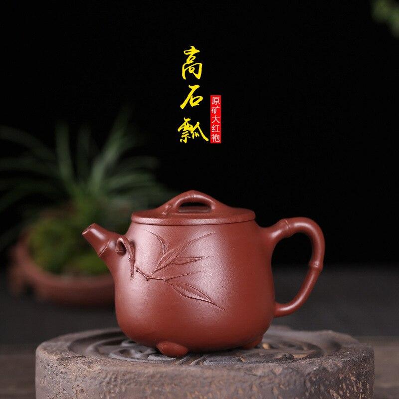 teapots directly. The original mine Dahongpao Gaoshihu pure handmade teapots are customized and wholesaled one by one.