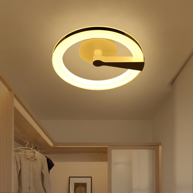 LED ring ceiling lights creative channel bedroom entrance corridor home lanterns living room attic D39CM ceiling & LED ring ceiling lights creative channel bedroom entrance corridor ...