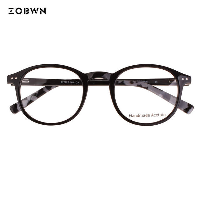 ZOBWN lunettes de vue rivet Style Vintage