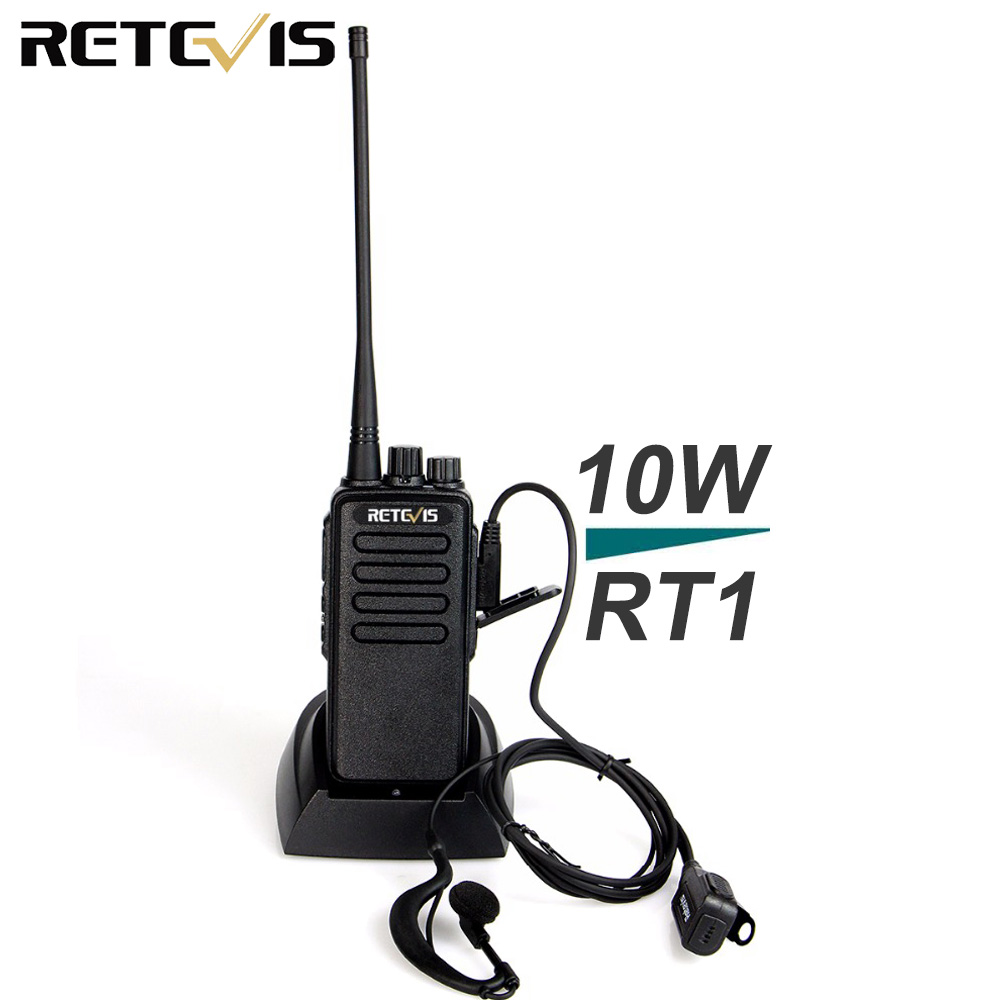 10 W рация Retevis RT1 УКВ или UHF скремблер тон на 1750 Гц радиолюбителей КВ трансивер Водонепроницаемый IP54