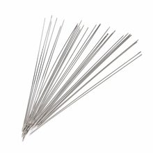 Beading Needles Threading String/Cord Jewelry Tool Tweezers Vise Glue Gun Pliers Ring Sizer Graver Jewelry Tools 120mm 30PCS(China)