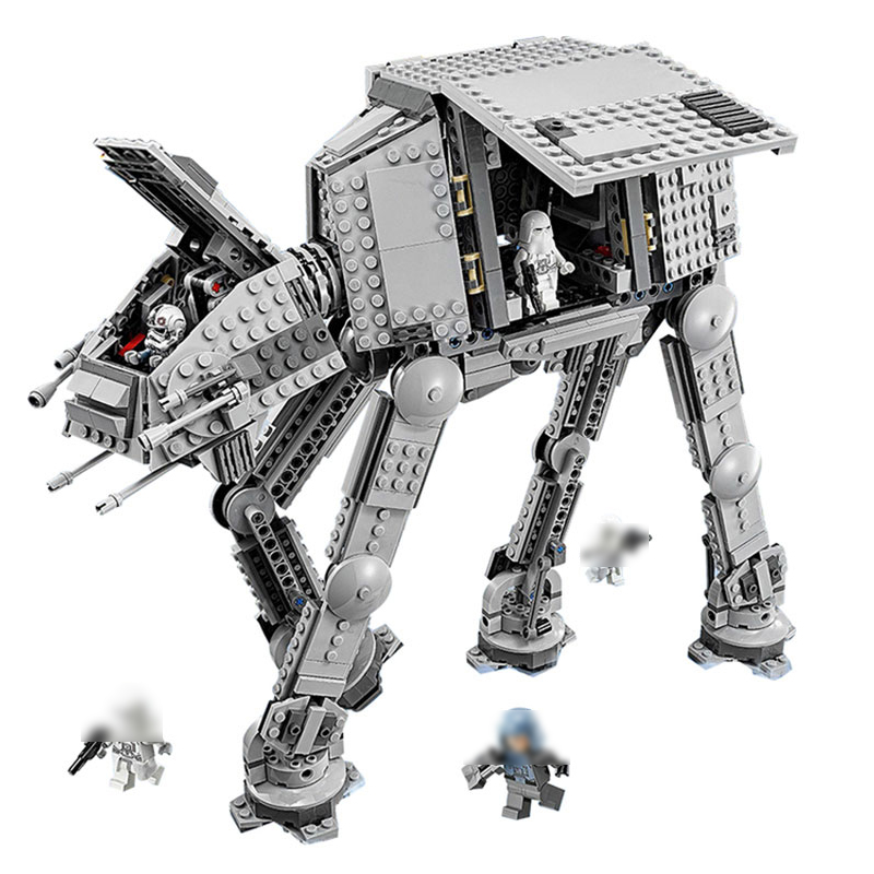 05051 Star Series Force Toys Awaken The AT Model AT Transportation Armored Robot 75054 Building Blocks Bricks Legoed Toy urban transportation sections at minus
