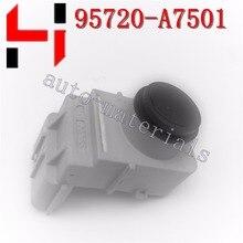 1 unids Genuino PDC sensor de aparcamiento para Hyundai 95720-A7501 Asamblea Sensor Ultrasónico sensor de color negro 100% original
