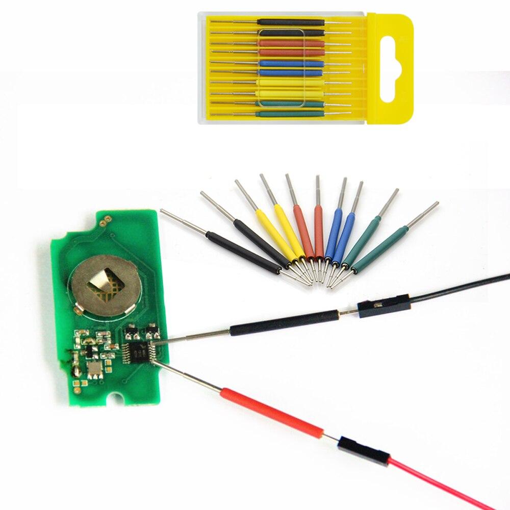 Best Price Of Color Micro IC Clamp TSOP/MSOP/SSOP/TSSOP/SOIC/SOP CLIP 10pcs/set Free Shipping
