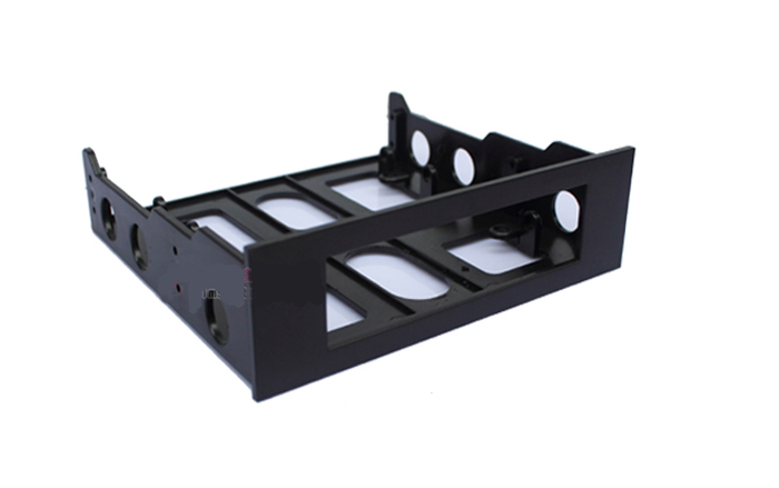 3.5 to 5.25 Drive Bay Computer Case Adapter Mounting Bracket USB Hub Floppy