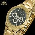 SEWOR мужские супер Роскошные модные черные часы высокого качества Механические автоматические часы мужские спортивные часы C1260