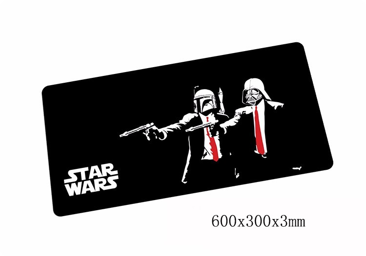 Star Wars mouse pads 600x300x3mm pad to mouse notbook computer mousepad Popular gaming mousepad gamer to laptop mouse mat