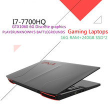 ENZ K36P Gaming Laptops 15.6″ IPS FHD 1920*1080 PC Tablets GTX1060 DDR5 6G Intel Core i7 7700HQ CPU 16GB RAM 240GB SSD+240GB SSD