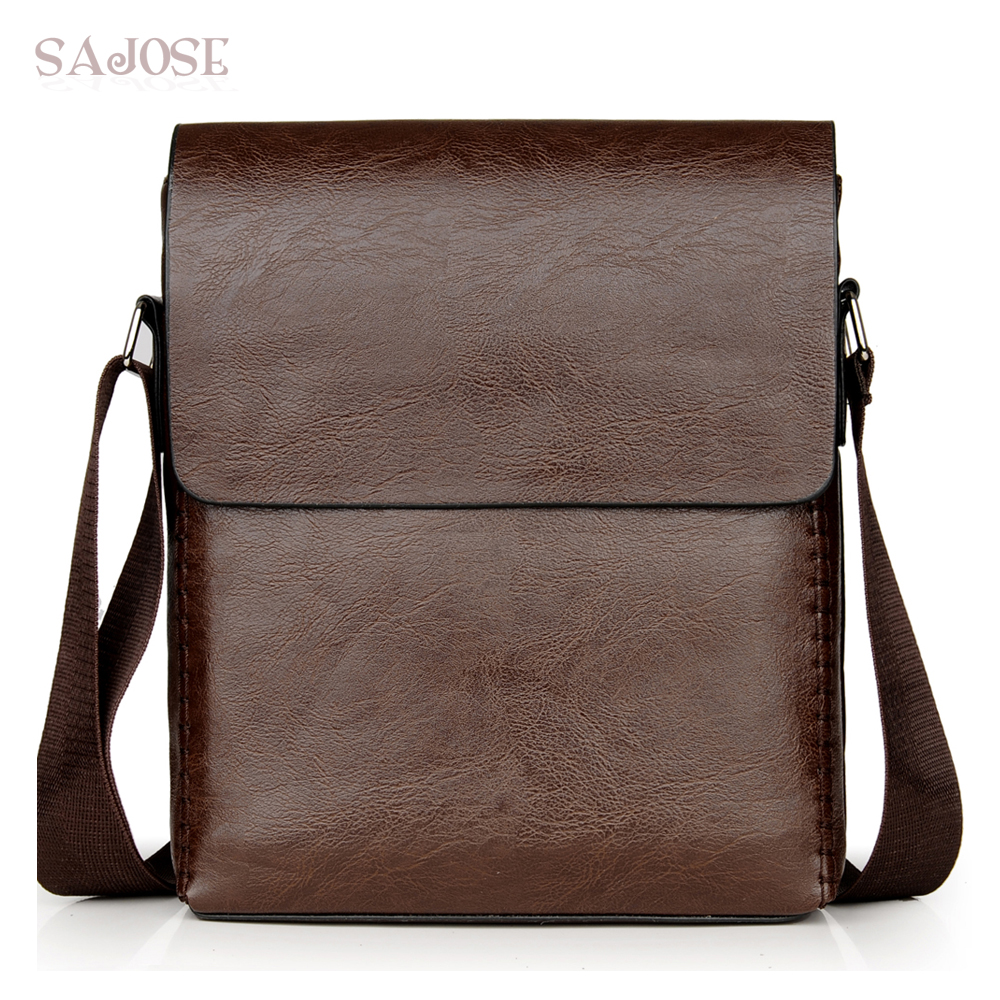 Crossbody-Bags Male Men's Casual High-Quality PU Knitting For Simple Business-Hand-Bag
