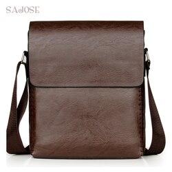 Sacos crossbody para homens bolsa de ombro de couro do plutônio masculino casual simples tricô mensageiro sacos de negócios de alta qualidade saco de mão