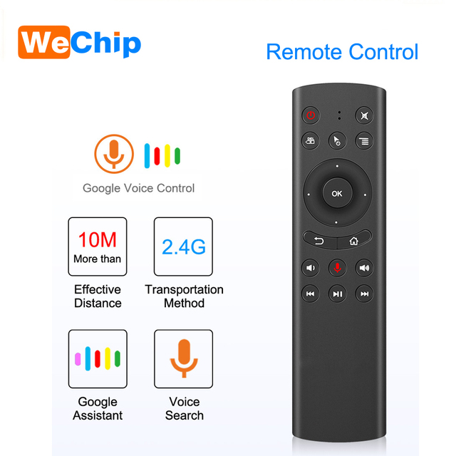 G20 Voice Air Mouse IR Learning Function 2.4G Wireless Keyboard Remote Control For Android TV Box X96 mini TX6 H96 pro T95Z max
