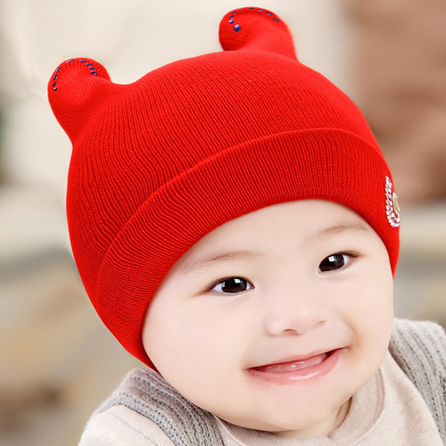 3-12 Month Korean Style Winter Baby Hats For Girls Boys High Quality Caps  For Girl Floral Letter Warm Straw Boy Hat Cap 408 427f3a3be39