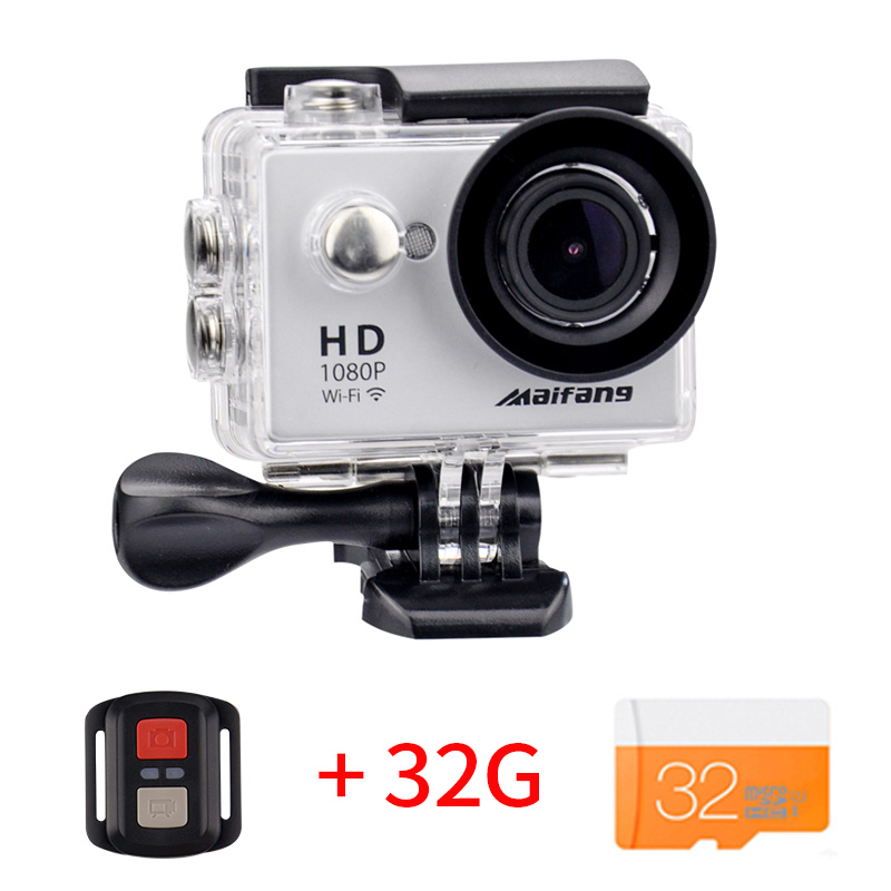 Ultra HD 4 K 10FPS caméra d'action Wifi Caméscopes 12MP aller cam 4 K deportiva 2 pouces Étanche caméra de sport pro 1080 P 30fps cam
