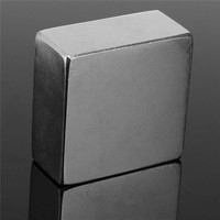 1PC 45 X 45 X 25mm N50 Block Magnet Neodymium Permenent Strong Magnet Rare Earth Square