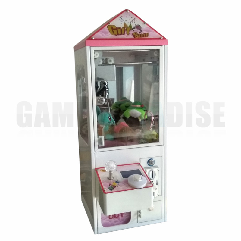 bartop Mini Arcade Claw Crane Machine candy toy catcher machine with coin operated For Sale 5 year warranty 1