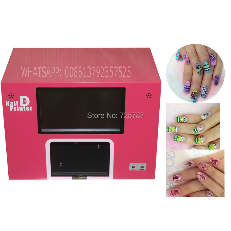 Ce Roved Computer Nail Printer Digital Art With 5 Natural 12 Fake Nails Printing A Time In Equipment From Beauty Health On