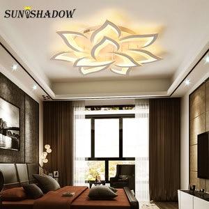Image 3 - Plafonnier moderne LED, éclairage de plafond, éclairage de plafond, idéal pour le salon, la chambre à coucher, la cuisine, ac 110/220V Led