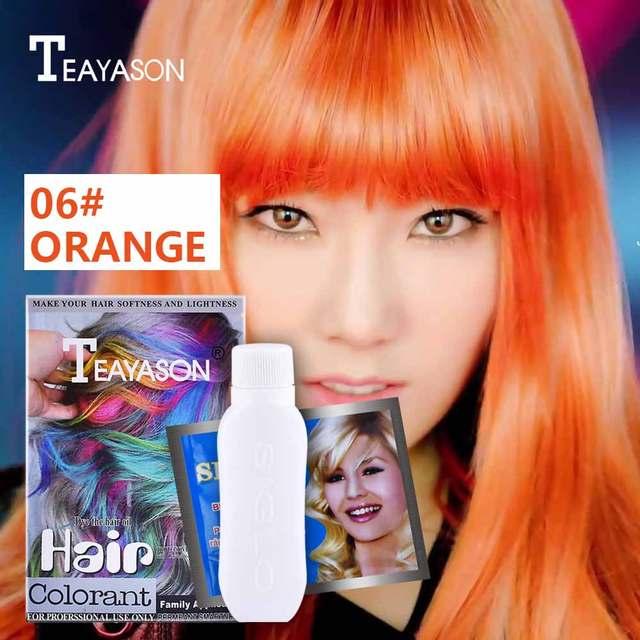 Teayason Hair Color Wax Palette Blue Red Green White Hair