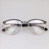 Free Shipping New Eyeglasses Metal Thin Border Neutral Style Of Fashion 100 Lap CA6619 Optical Glasses