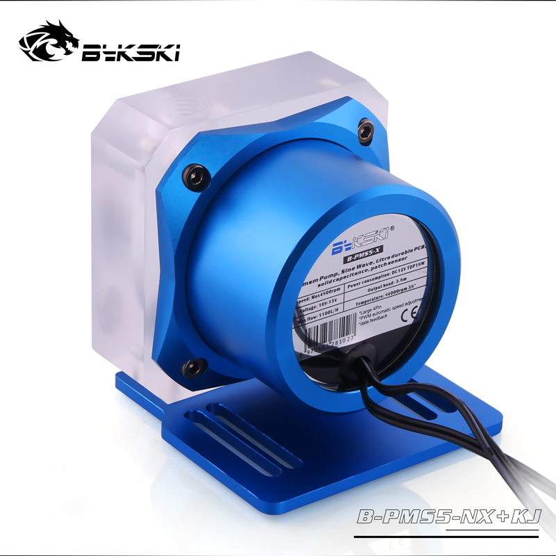 Image 4 - Bykski PWM Automatic Speed 18W Pump / Max 5000RPM / Flow 1100L/H Date Feedback / TDP 23W Manual Speed Regulation 1500L/H-in Fluid DIY Cooling from Computer & Office