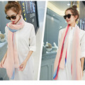 Women Lady Winter Autumn Warm Soft Long Pink Grey Dots Voile Neck Large Scarf Wrap Shawl Stole Scarve