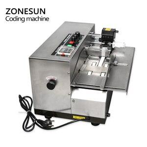 Image 4 - ZONESUN MY 380 coding machine Semi Automatic Solid Ink Date Coding Machine, automatically continuous date coding machine