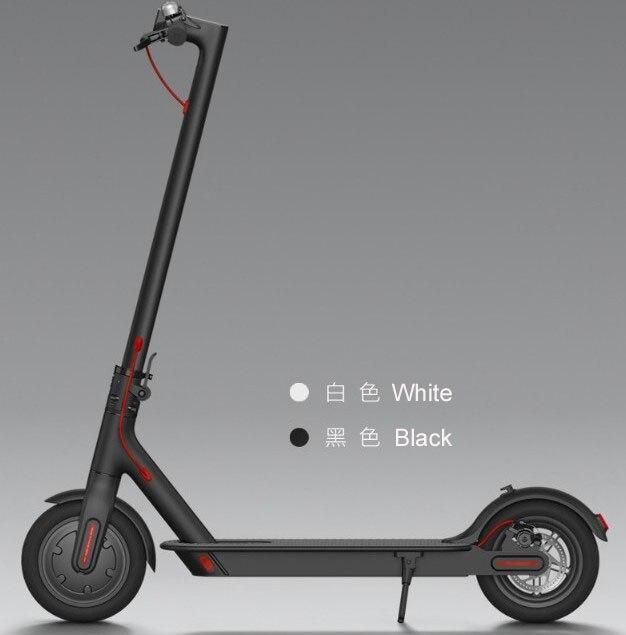 Original XIAOMI QICYCLE SCOOTER électrique pliant portable mini loisirs 8.5 pouces 250 w moteur intelligent scooter cinétique récupération d'énergie - 4