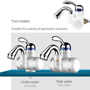 Image 3 - Kbxstart זעיר גודל Banheiro חשמלי מיידי דוד מים חמים ברז 180 סיבוב 220V מחומם ברז עם מים חימום