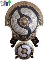 60*60 см Большой размер игра DOTA2 чемпионы щит Aegis бесконтактной Модели моделирования Смола украшения artware Подвески сувениры