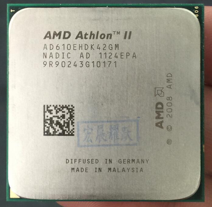 AMD Athlon II X4 610E  X610E  Quad-Core AM3 938 CPU 100% Working Properly Desktop Processor