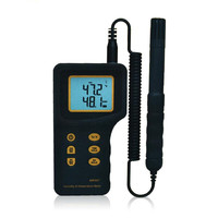 New High Quality Sensitive Handheld LCD Humidity Temperature Meter AR847 Portable Digital Hygrometer Thermometer Tester