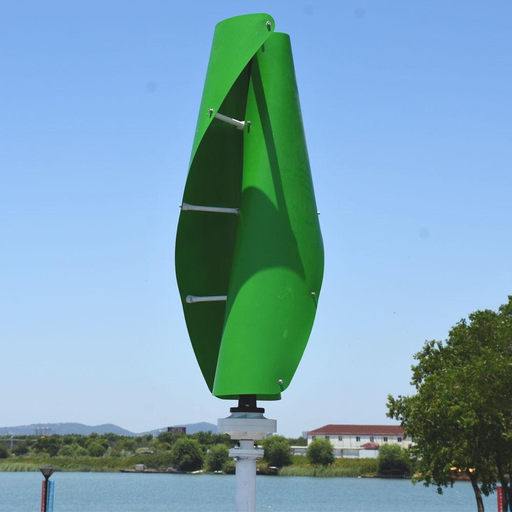 No la población pequeña doméstico con turbina eólica 300w 12v24v con 12v o 24v automático MPPT controlador