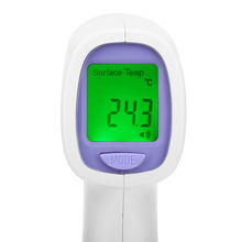 Newest UV – 8808 Professional LCD Screen Display Infrared Thermometer Gun Non-contact Body Temperature Measurement Device