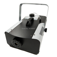 1500W Smoke Machine Stage fog machine for Remote and Wire Control for Party DJ Stage Lighting