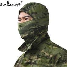 цена на Rattlesnake Tactical helmet Airsoft Hunting Wargame Breathing Dustproof Face Balaclava Mask Motorcycle Ski Cycling Full Hood