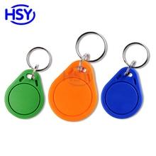 RFID 125Khz Rewritable Keyfob can Copy EM4100 TK4100 Proximity key fob EM ID Keytag T5577 Token Keychain