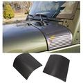 2x Black Rugged Ridge ABS Plastic Body Armor Side Cowl Cover for Jeep Wrangler 2007-2015 ABS Plastic Car Accessories 11651.18